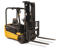 Pneumatic electric forklift